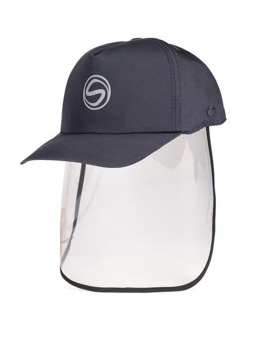 Voonik Adult Dark Navy Blue Sporty Detachable Cap shield