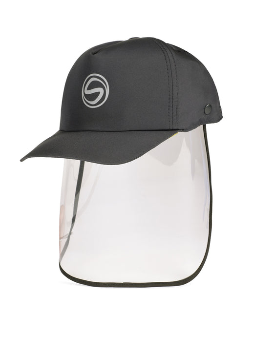 Voonik Adult CharcoalGrey Sporty Detachable Cap shield