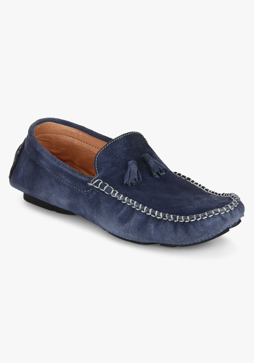 Men's Blue Casual Loafers