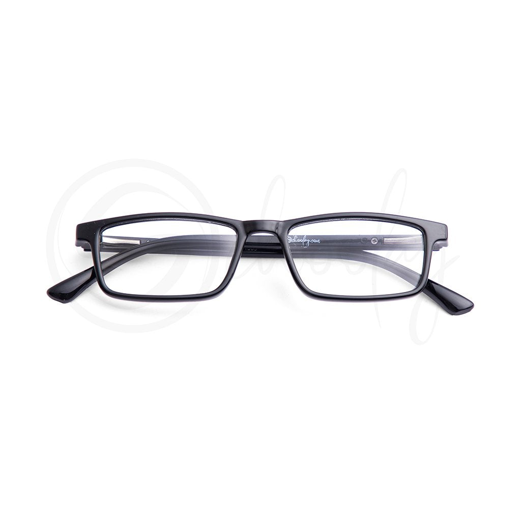 Teens/Adults WFH Eye Protection - Black Rectangle Adult Specs
