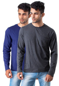 Full Sleeve round neck Combo pack of 2