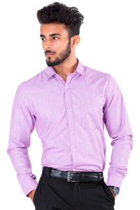 Full Sleeve Purple Casual Shirt