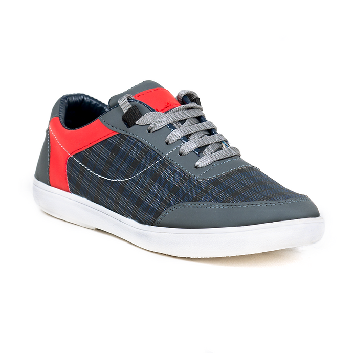 Men's red grey Casual Shoe