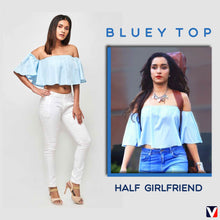 Load image into Gallery viewer, Bollywoo- HALF GIRLFRIEND Bluey Top