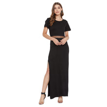 Load image into Gallery viewer, Black Long Gown