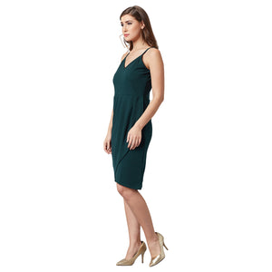 Gracious Green Party Dress