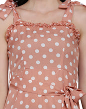 Load image into Gallery viewer, Parisian Streets Pink Polka Dress