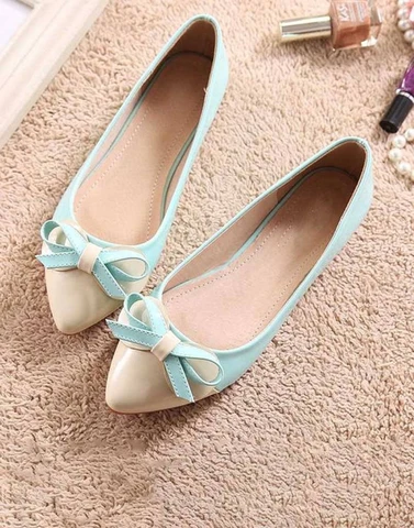 Cute Active Sky-blue Ballerina