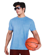 Load image into Gallery viewer, Bollywoo- LUKA CHUPPI Azure Blue Half Sleeve T-Shirt