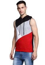 Load image into Gallery viewer, sleeveless hooded Tee