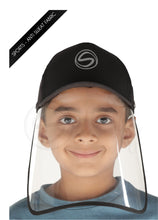 Load image into Gallery viewer, Voonik Defenders-Panther Black Sporty Detachable Cap shield