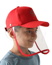 Load image into Gallery viewer, Voonik Defenders- Red Classic Detachable Cap shield