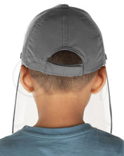 Load image into Gallery viewer, Voonik Defenders- CharcoalGrey Sporty Detachable Cap shield
