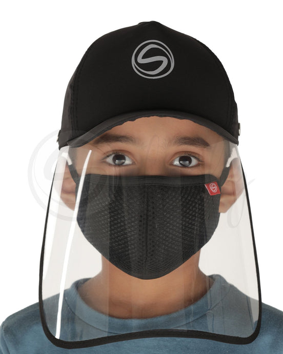 Voonik Defenders- Sporty Detachable Cap Shield With Kids mask