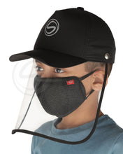 Load image into Gallery viewer, Voonik Defenders- Sporty Detachable Cap Shield With Kids mask