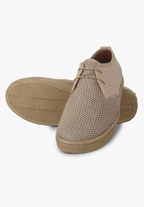 Premium Beige Comfort Sneakers for Men