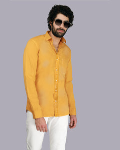 Bollywoo- LUKA CHUPPI Mustard yellow shirt