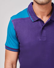 Load image into Gallery viewer, Bollywoo- MCA Purple Casual Polo T-shirt