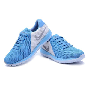 Men's Blue Mesh Running Sport Shoes