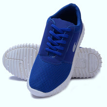 Load image into Gallery viewer, Men's Blue Smart Running Sports Shoes
