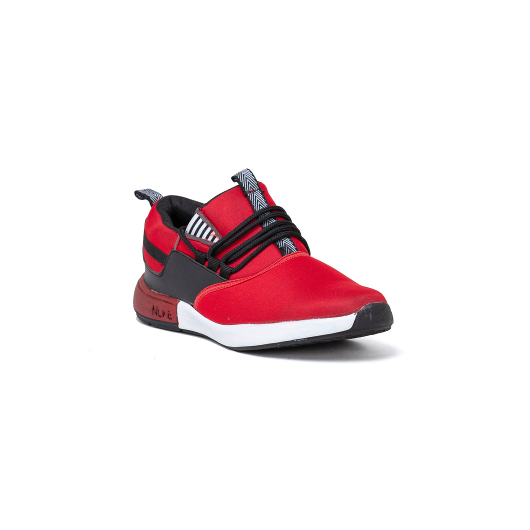 Men's Red Casual Shoe without lace