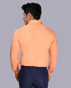 Bollywoo- BHARAT ANE NENU Full Sleeves Peach Shirt