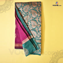Load image into Gallery viewer, Pink kuppadam Fancy Design Saree