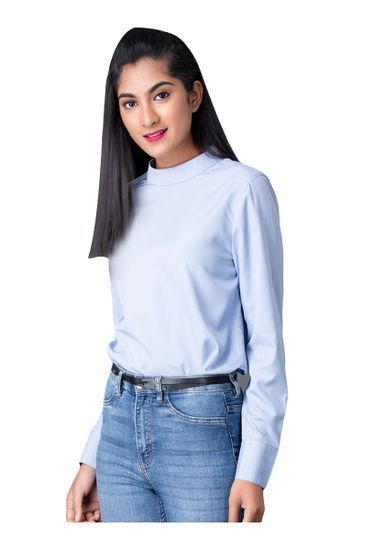 Sky Blue full sleeve top