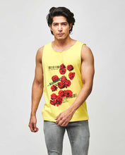 Load image into Gallery viewer, Bollywoo- MANMARZIYAAN Yellow Rose Print Vest