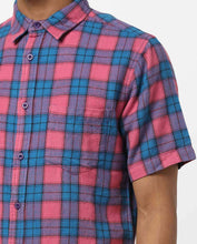 Load image into Gallery viewer, Bollywoo-JANATHA GARAGE Blue & Pink Checkered Casual Shirt