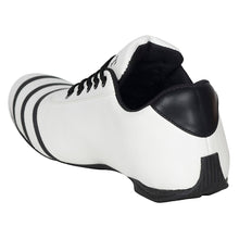 Load image into Gallery viewer, White & black striped bowling shoes