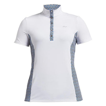 ROHNISCH BLISS GEO COMB GOLF POLO SHIRT ROHNISCH LADIES POLOS ROHNISCH