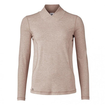 DAILY AGNES LONG SLEEVE GOLF POLO SHIRT DAILY LADIES POLOS DAILY