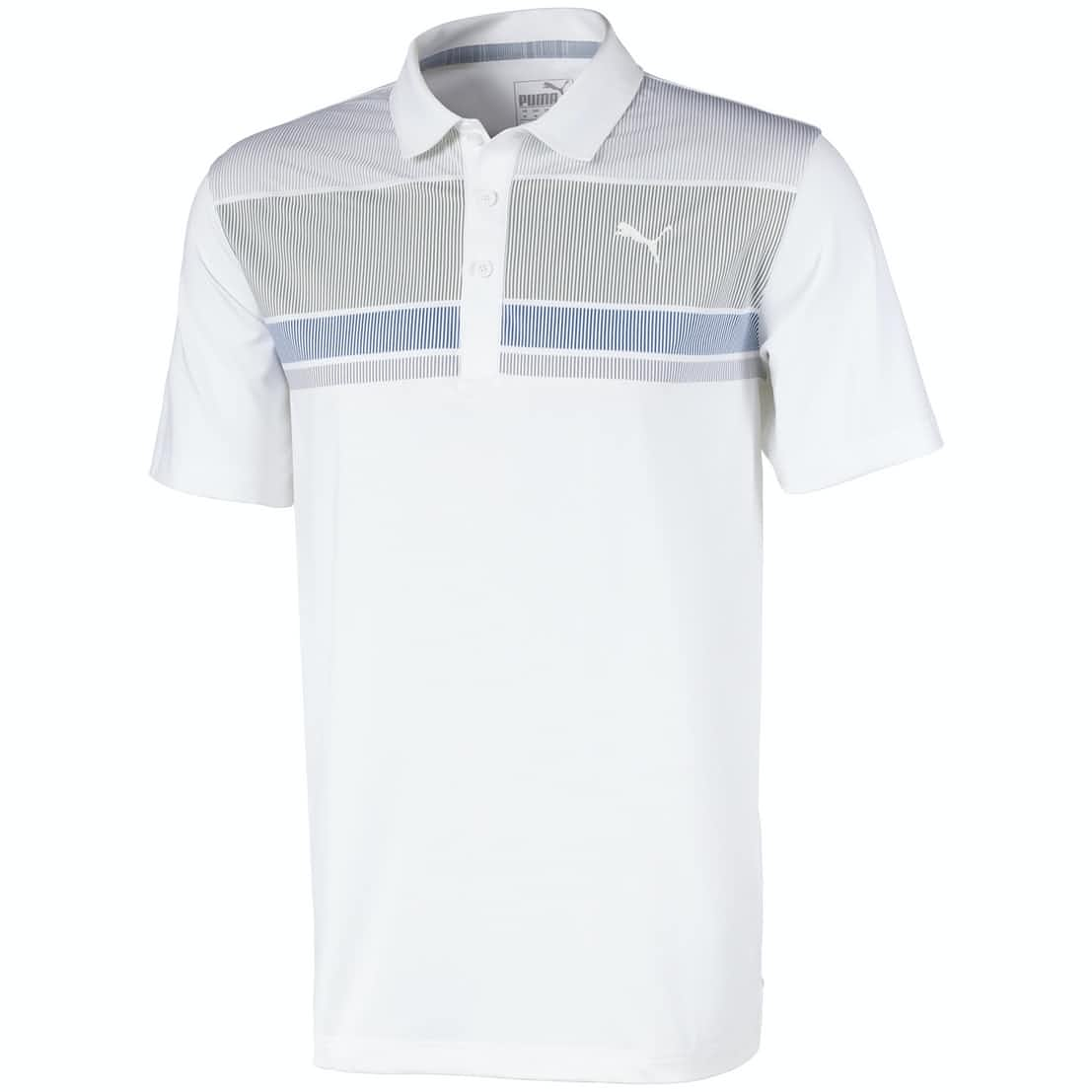 PUMA ROAD MAP GOLF POLO SHIRT PUMA MENS POLOS PUMA