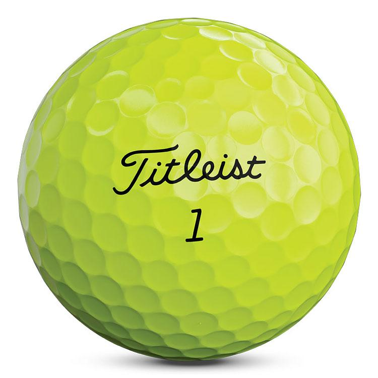 TITLEIST AVX YELLOW GOLF BALLS 12PK TITLEIST BALLS TITLEIST