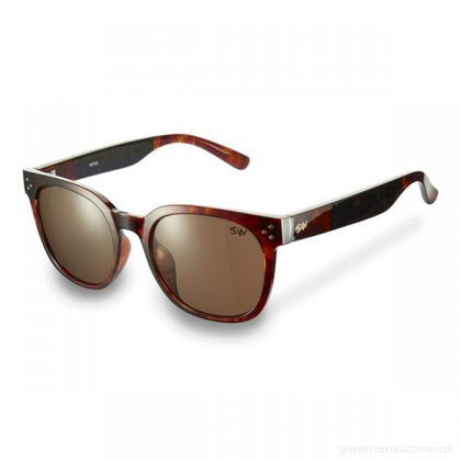 Sunwise Swirl Brown Sunglasses SUNGLASSES SUNWISE