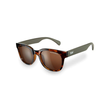 Sunwise Breeze Brown Sunglasses SUNGLASSES SUNWISE