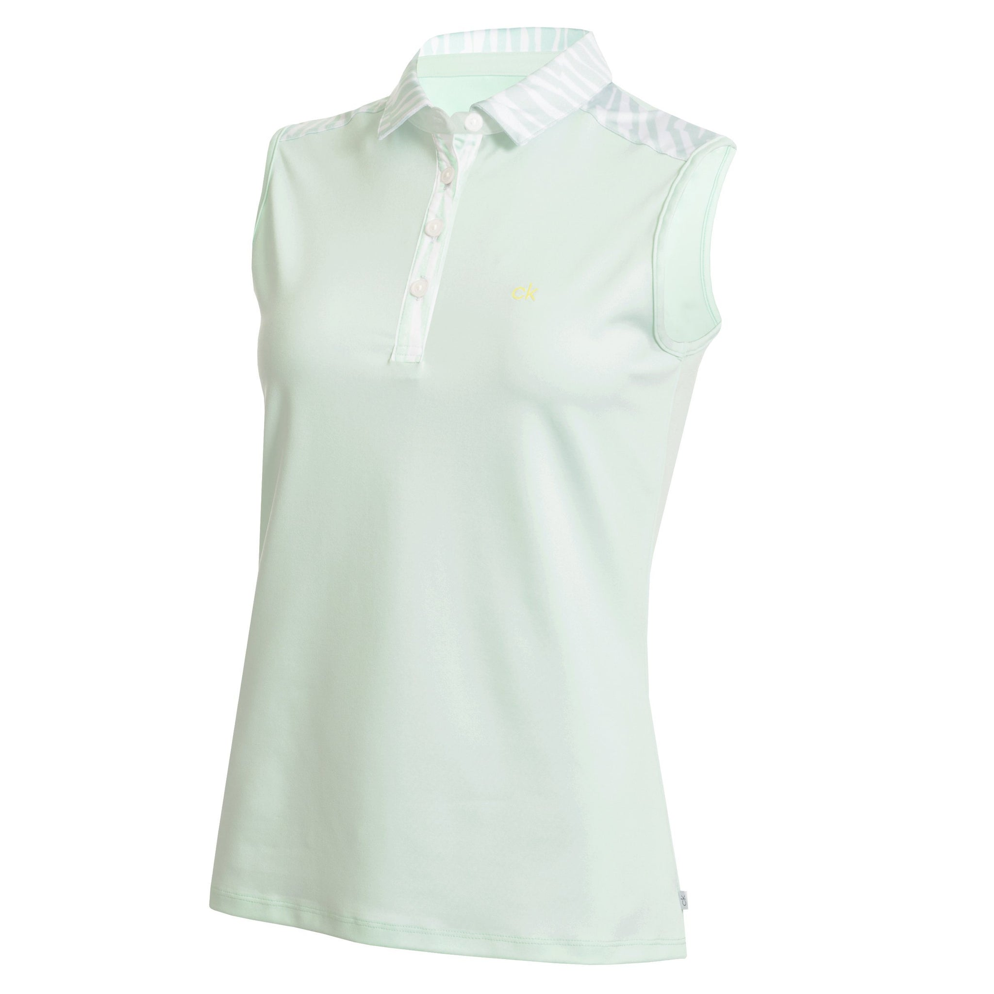 CALVIN KLEIN CATALINA S/LESS GOLF POLO SHIRT CK LADIES POLOS CALVIN KLEIN