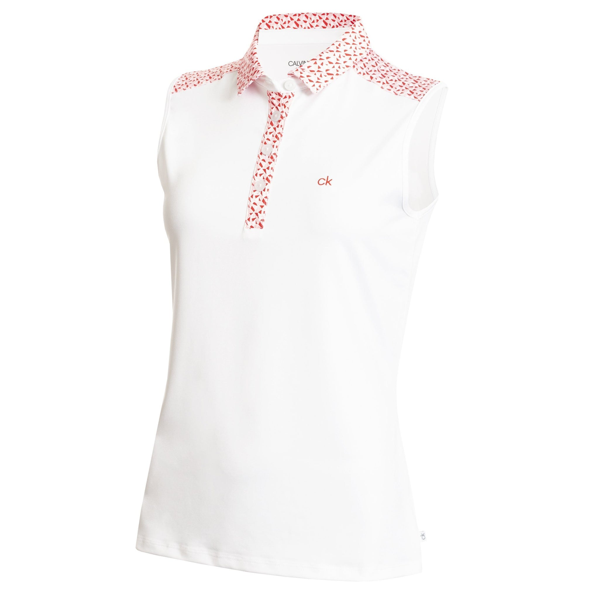 CALVIN KLEIN CATALINA S/LESS GOLF POLO CK LADIES POLOS CALVIN KLEIN