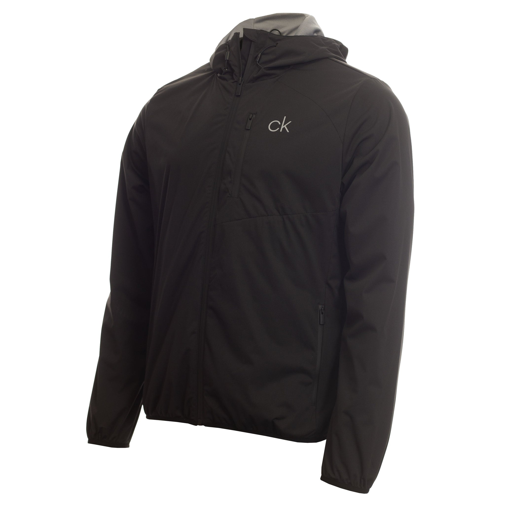 CALVIN KLEIN ULTRON HOODED GOLF JACKET CK MENS JACKETS CALVIN KLEIN