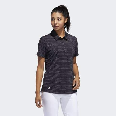 ADIDAS MICRODOT GOLF POLO SHIRT ADIDAS LADIES POLOS ADIDAS
