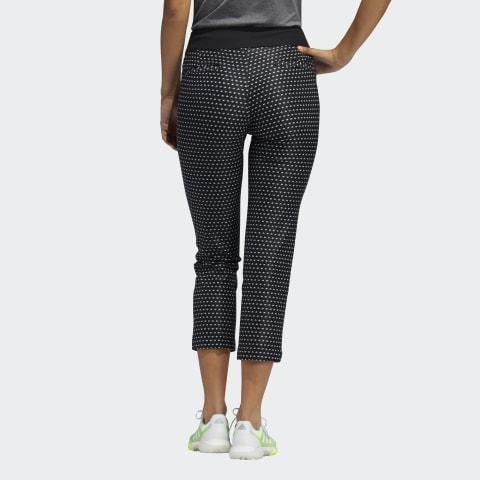ADIDAS PRINTED PULL ON GOLF PANTS ADIDAS LADIES TROUSERS ADIDAS