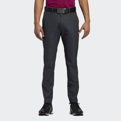 ADIDAS ULTIMATE365 HERRINGBONE GOLF TROUSERS ADIDAS MENS TROUSERS ADIDAS