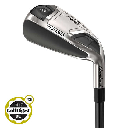 CLEVELAND LAUNCHER HB TURBO GOLF IRONS GRAPHITE RH CLEVELAND LAUNCHER HB TURBO IRON SETS CLEVELAND