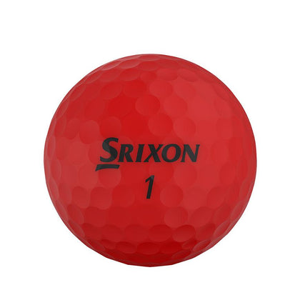 Srixon Soft Feel Brite Red Golf Balls 12pk SRIXON BALLS SRIXON