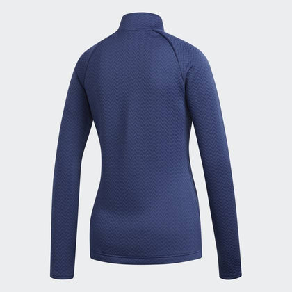 ADIDAS TEXTURED GOLF MID LAYER ADIDAS LADIES MID LAYER ADIDAS