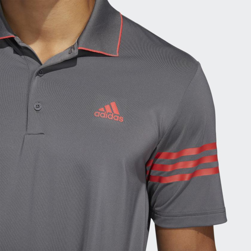 ADIDAS ULTIMATE365 BLOCKED GOLF POLO SHIRT ADIDAS MENS POLOS ADIDAS