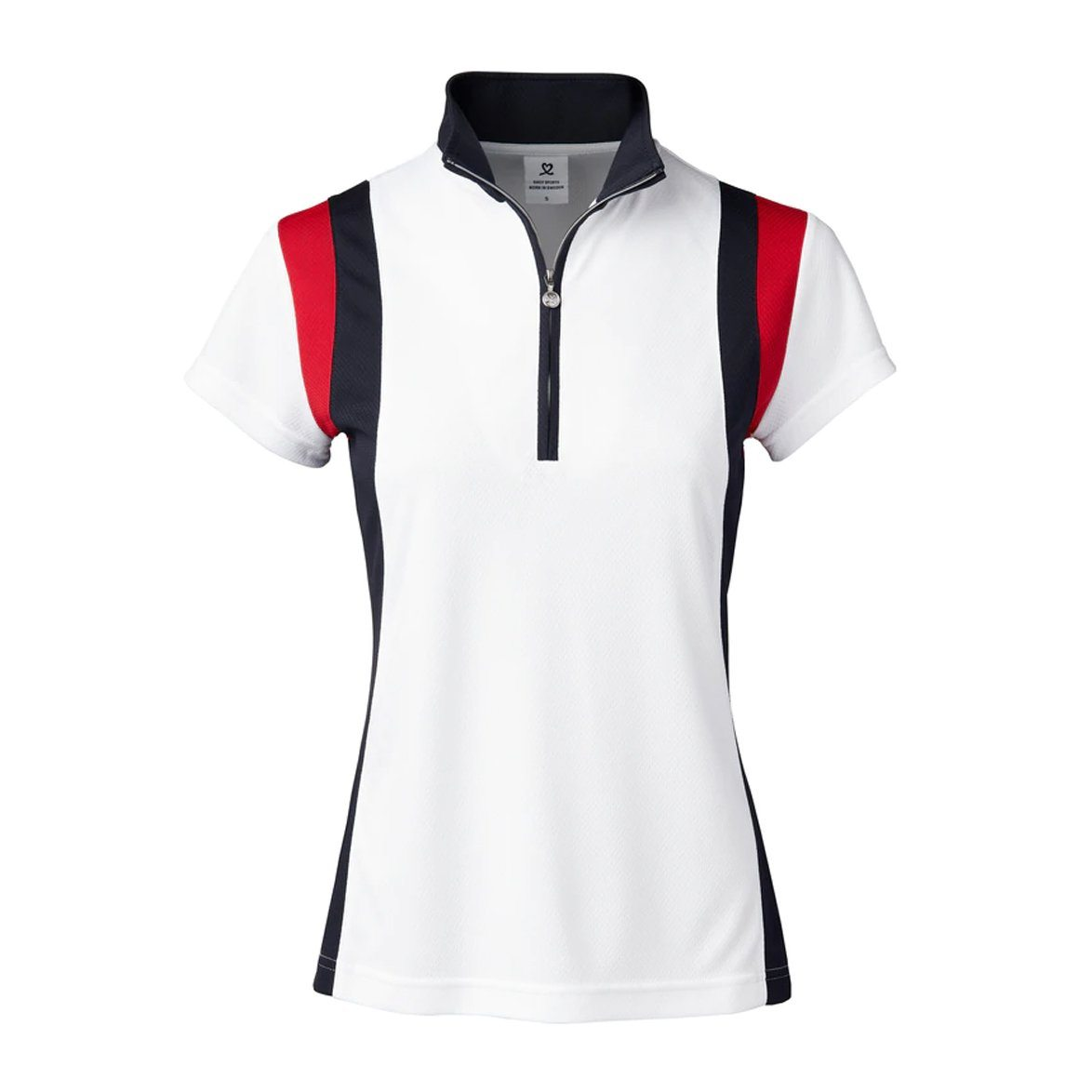 DAILY WILONA CAP SLEEVE GOLF POLO SHIRT DAILY LADIES POLOS DAILY