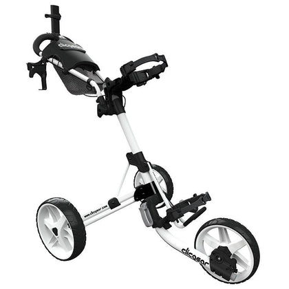 CLICGEAR 4.0 3 WHEEL GOLF TROLLEY 3 WHEEL PUSH TROLLEYS BOSTON GOLF