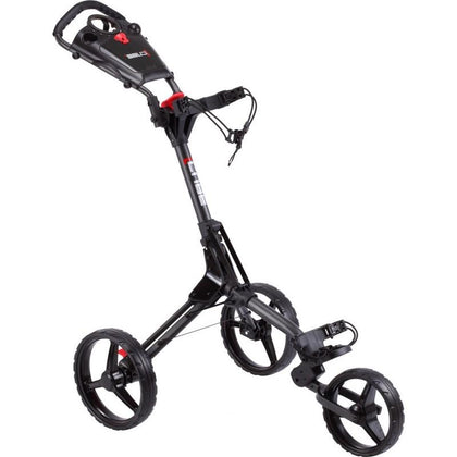 CUBE3 3 WHEEL GOLF TROLLEY 3 WHEEL PUSH TROLLEYS BOSTON GOLF